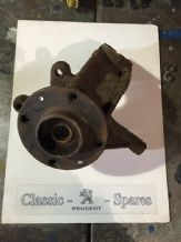 peugeot 205 Base Model Diesel  o/s/f driver side front hub assembly Solid Discs